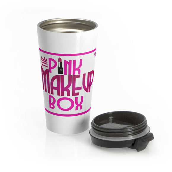 PMB Stainless Steel Travel Mug - The Pink Makeup Box