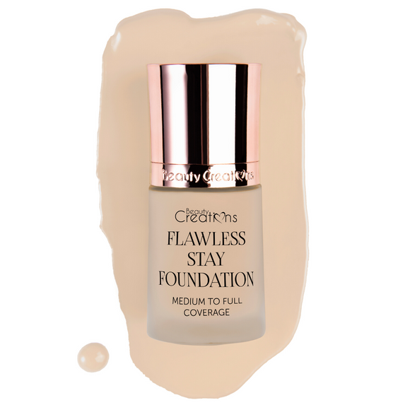 FLAWLESS STAY FOUNDATION 2.5 (6 OR 12 PCS) - The Pink Makeup Box