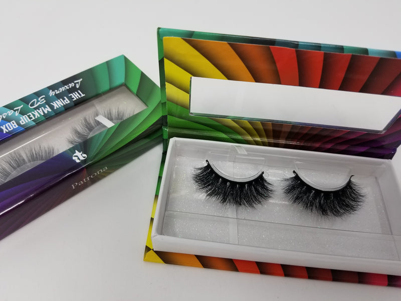 """Patrona"" LGBTQ Rainbow Lash Collection - The Pink Makeup Box"