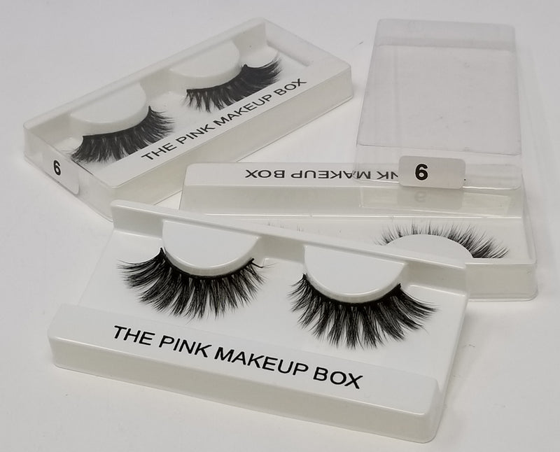 The Pink Makeup Box Eyelashes - The Pink Makeup Box