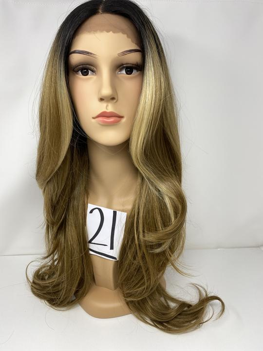 21 - Free Part Lace Front Wig 13x4 - The Pink Makeup Box