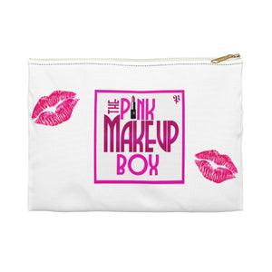 PMB Kisses Cosmetic Pouch - The Pink Makeup Box
