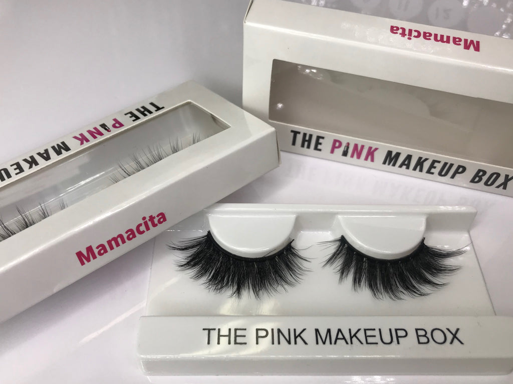 """Mamacita"" Premium Silk Lashes - The Pink Makeup Box"