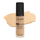 L.A Girl PRO Matte Foundation - The Pink Makeup Box