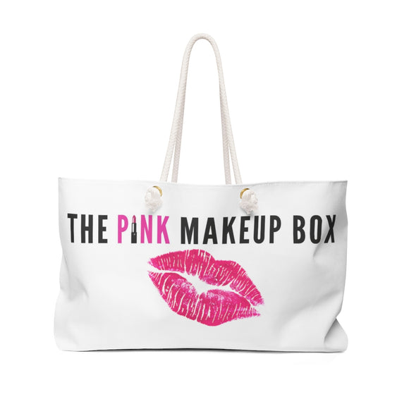 PMB Kiss Me Weekender Bag - The Pink Makeup Box