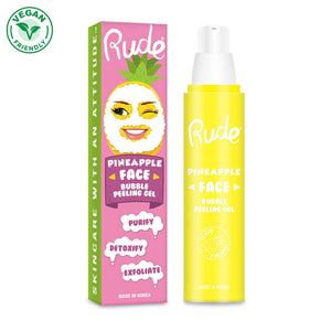 Pineapple Face Bubble Peeling Gel - The Pink Makeup Box