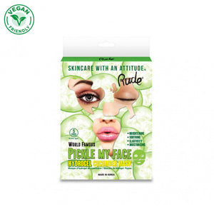 Pickle My Face Hydrogel Cucumber Mask - 5 Piece Pack - The Pink Makeup Box