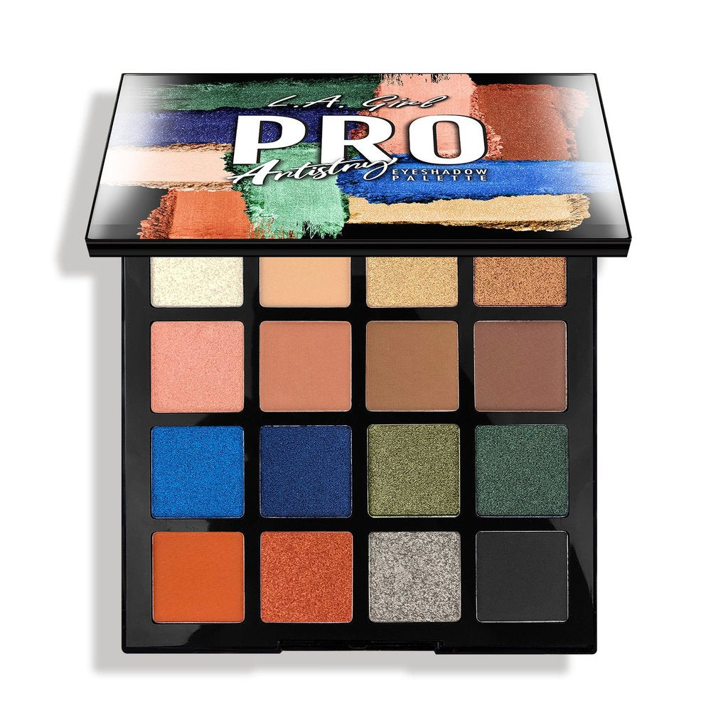 L.A Girl Pro Eyeshadow Palette - The Pink Makeup Box