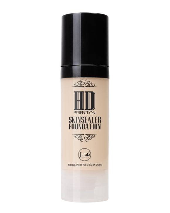 HD PERFECTION SKINSEALER FOUNDATION - The Pink Makeup Box