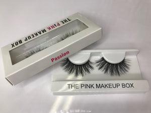 """Passion"" Premium Silk Lashes - The Pink Makeup Box"