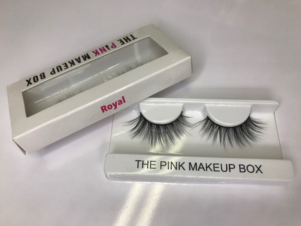 """Royal"" Premium Silk Lashes - The Pink Makeup Box"