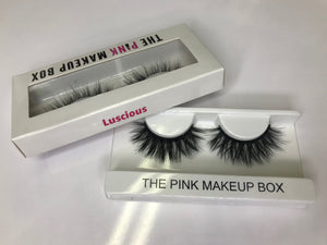 """Luscious"" Premium Silk Lashes - The Pink Makeup Box"