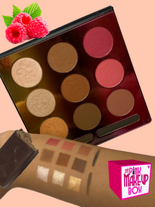 The Chocolate Dessert Palette (6 or 12 pieces) - The Pink Makeup Box
