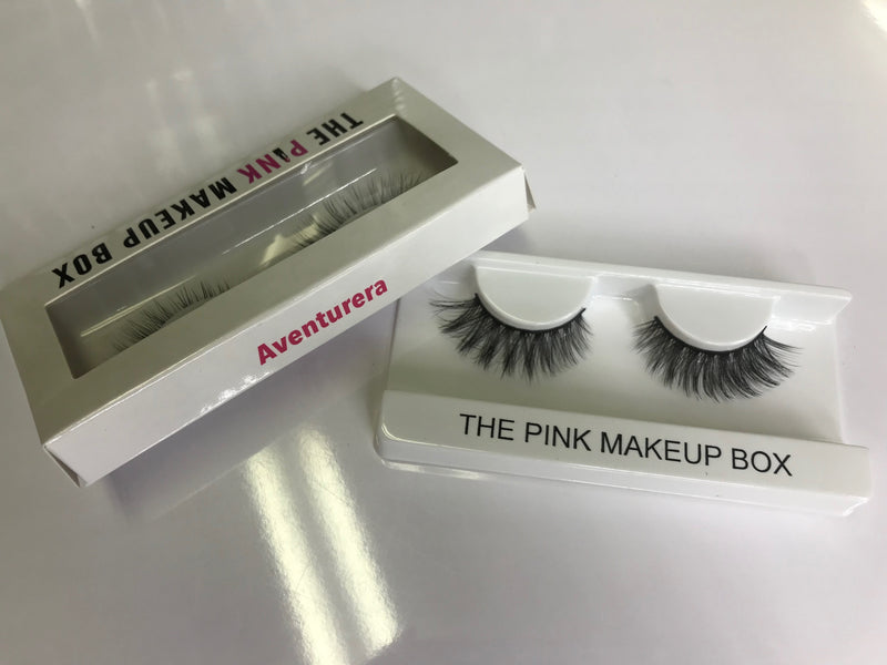 """Aventurera"" Premium Silk Lashes - The Pink Makeup Box"