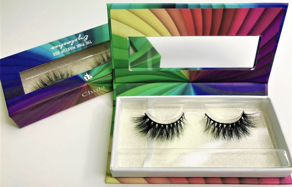 """Chula"" LGBTQ Rainbow Lash Collection - The Pink Makeup Box"
