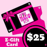 Gift Card - The Pink Makeup Box