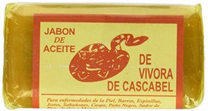 Rattlesnake Soap for Acne Rashes Vibora - The Pink Makeup Box