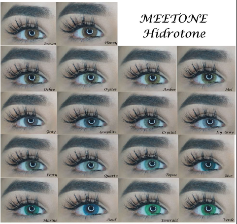 Meetone Hidrotone & BTS Lenses De Color - The Pink Makeup Box