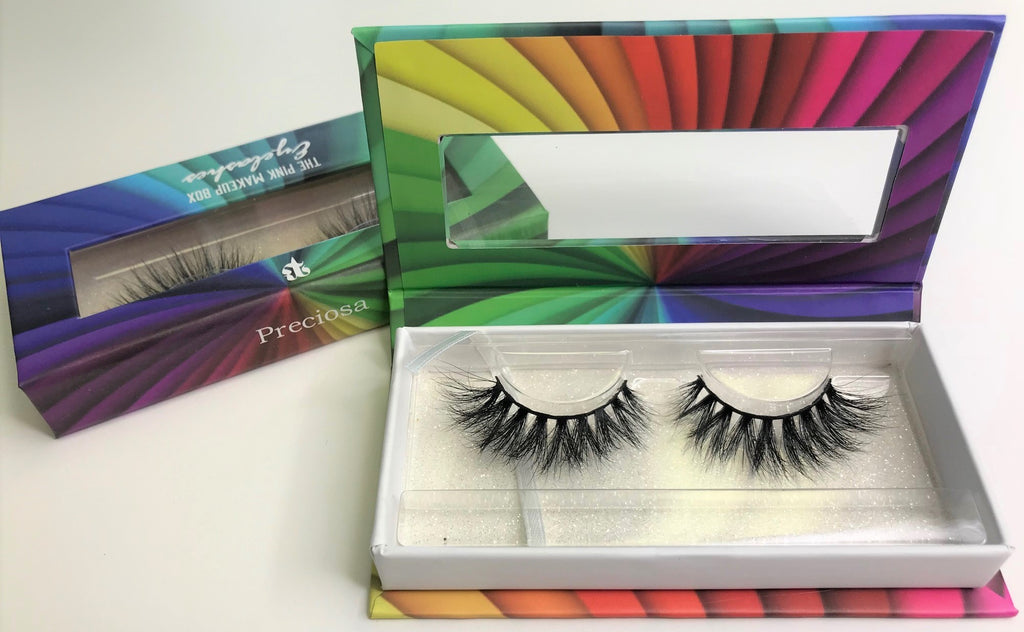 """Preciosa"" LGBTQ Rainbow Lash Collection - The Pink Makeup Box"