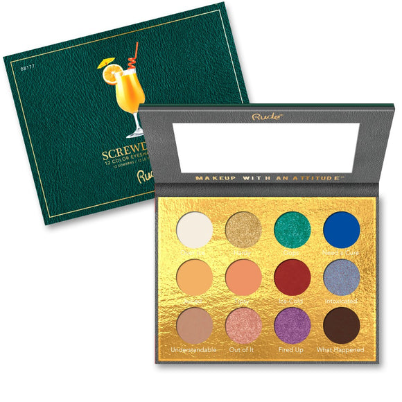 Cocktail Party 12 Color Eyeshadow Palette - Screwdriver