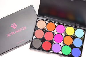 15A Rainbow Eyeshadow Palette - The Pink Makeup Box