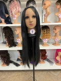 H - Black Straight Cosplay Wig - The Pink Makeup Box
