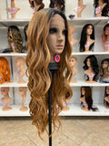 8 - Middle Part Lace Front Wig
