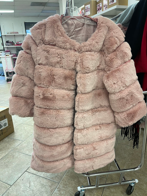 PINK WINTER COAT (ONE SIZE)