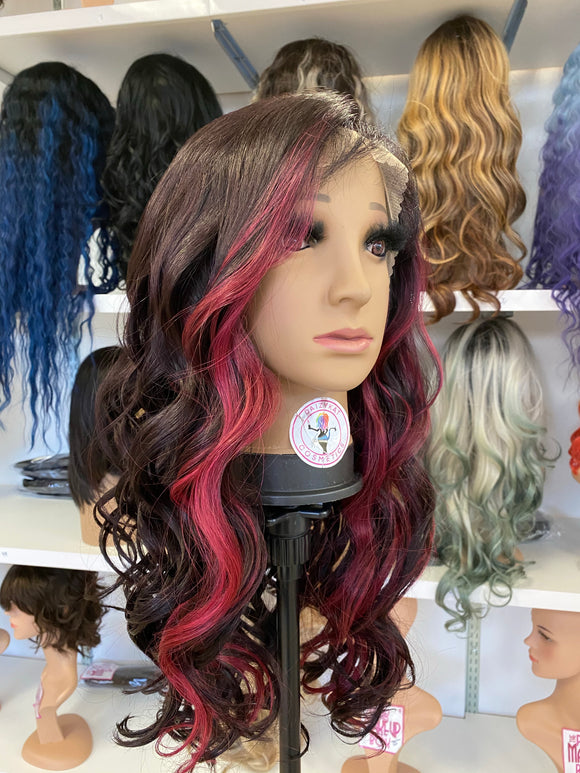37 - Free Part 360 Lace Front Wig - The Pink Makeup Box