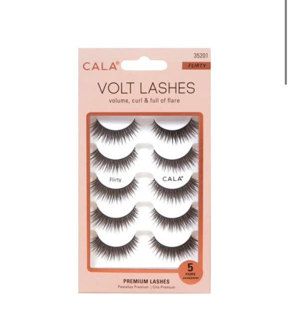 VOLT LASHES: FLIRTY (5 PAIR PACK)