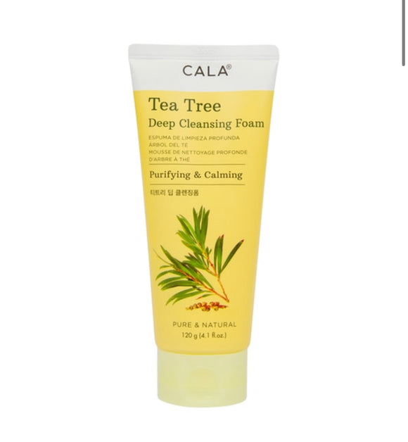 DEEP CLEANSING FOAM: TEA TREE