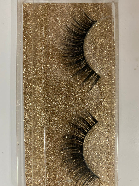 Miss Lil Usa Eyelashes #42 Cream Collection - The Pink Makeup Box