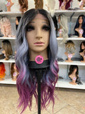 63 - Middle Part Lace Front Wig