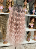 "12 - 5"" DEEP PART LACEFRONT WIG - The Pink Makeup Box"