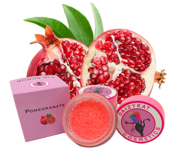 Pomegranate Lip Scrub (6 OR 12 PIECES) - The Pink Makeup Box