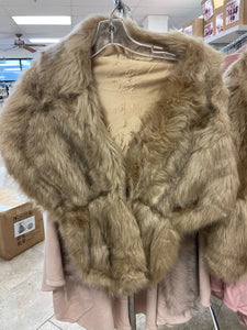 FUR COAT (ONE SIZE) - The Pink Makeup Box
