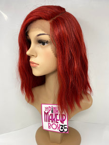 35A - Left Side Part Lace Front Wig - The Pink Makeup Box