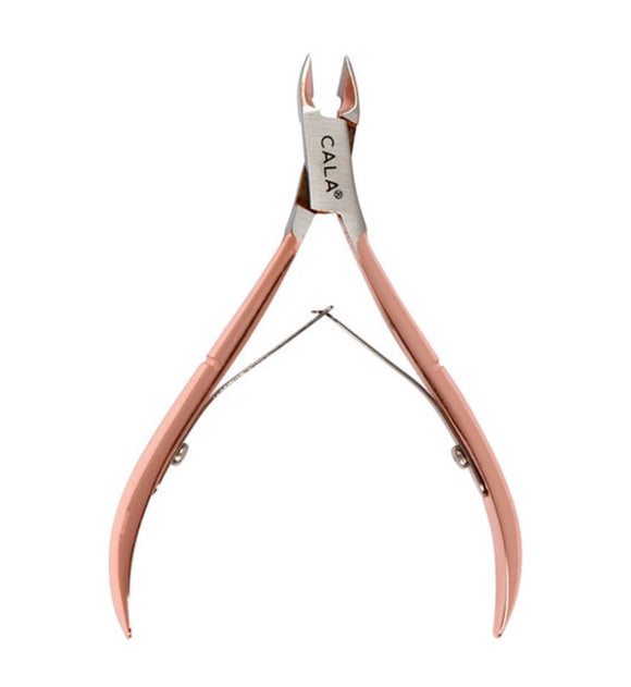ROSE GOLD: CUTICLE NIPPER - The Pink Makeup Box