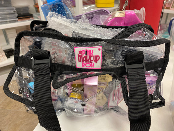 Black PMB Mystery bag filled with products (GABBIE) - The Pink Makeup Box