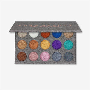 ES38 Galaxy Glitter Palette - The Pink Makeup Box