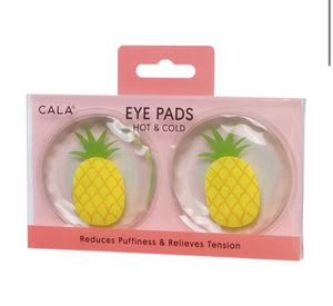 HOT & COLD EYE PADS (PINEAPPLE) - The Pink Makeup Box