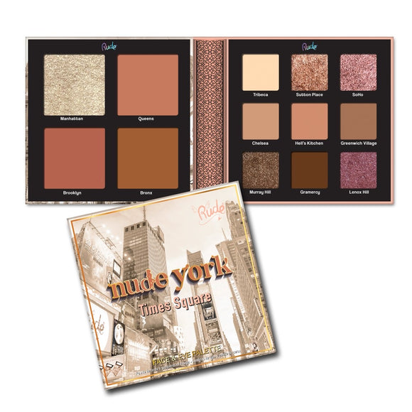 Nude York Face & Eye Palette
