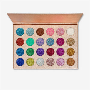 ES16 Galaxy Glitter Palette - The Pink Makeup Box