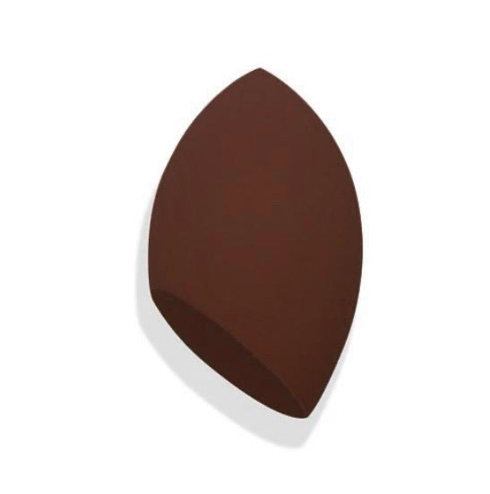 BROWN SLANTED EDGE MAKEUP SPONGE