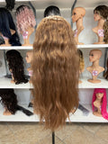 G - Wavy Brown Cosplay Wig - The Pink Makeup Box
