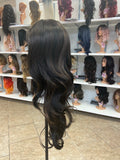 28 - Middle Part Lace Front Wig