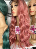 Wig Curling/Straightening Services - The Pink Makeup Box