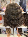 10 - Middle Part Lace Front Wig