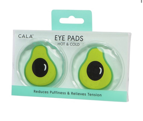 HOT & COLD EYE PADS (AVOCADO) - The Pink Makeup Box