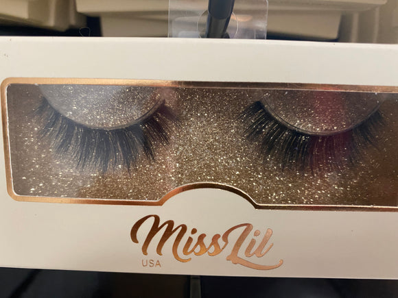 Miss Lil Usa Eyelashes #58 Cream Collection
